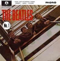 Beatles No. 1 EP artwork – United Kingdom