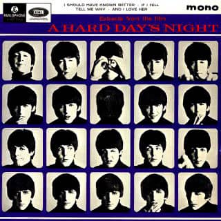 Extracts From The Film A Hard Day's Night EP artwork – United Kingdom