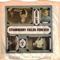 Penny Lane/Strawberry Fields Forever single artwork - United Kingdom
