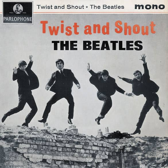 Twist And Shout EP artwork – United Kingdom