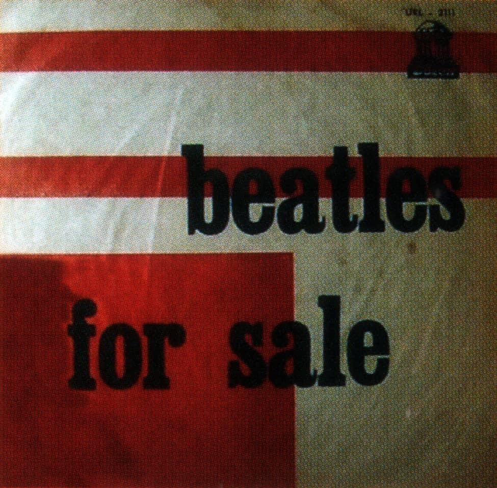 Beatles For Sale album artwork - Uruguay