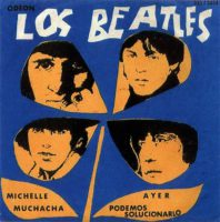 Los Beatles EP artwork – Uruguay