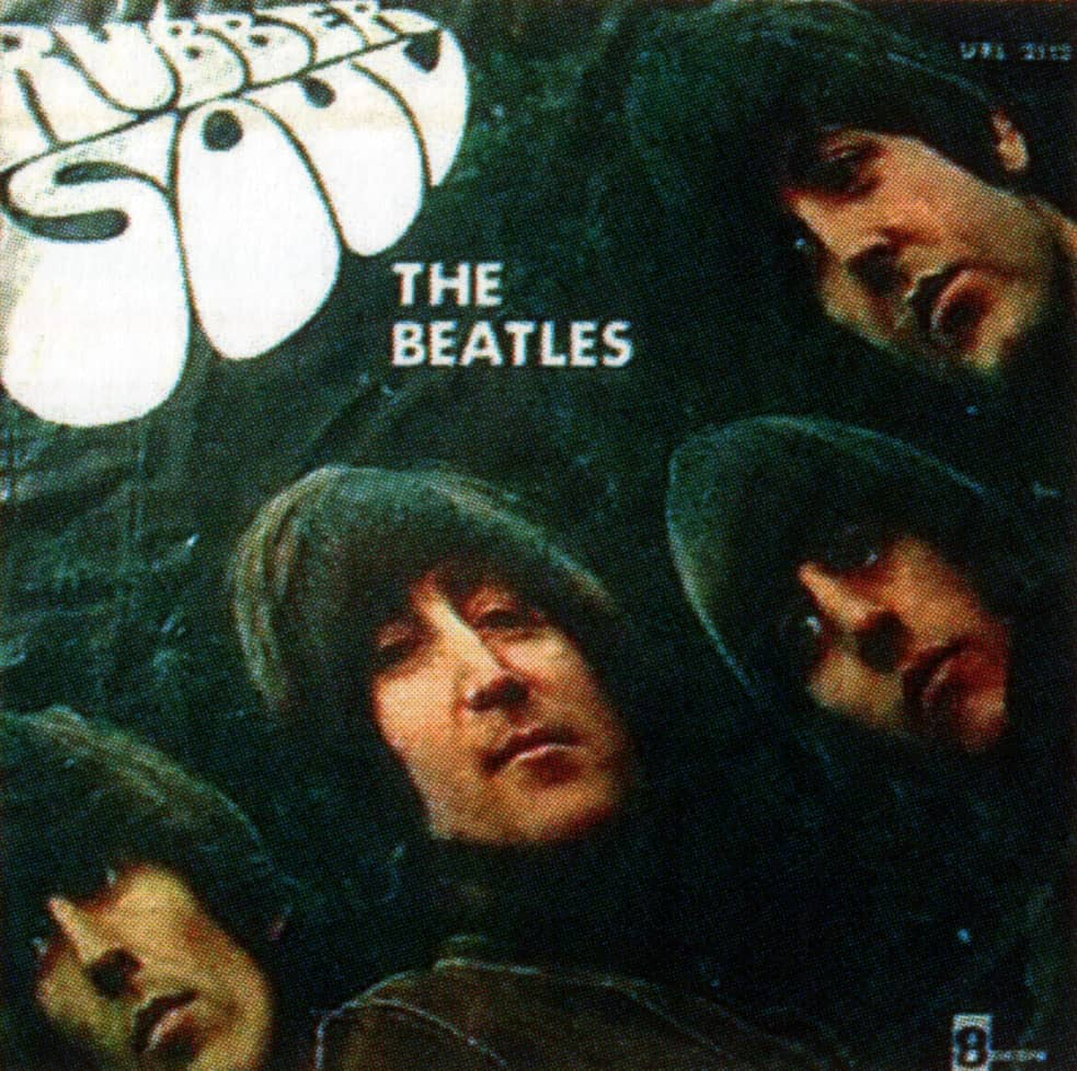 Rubber Soul album artwork - Uruguay