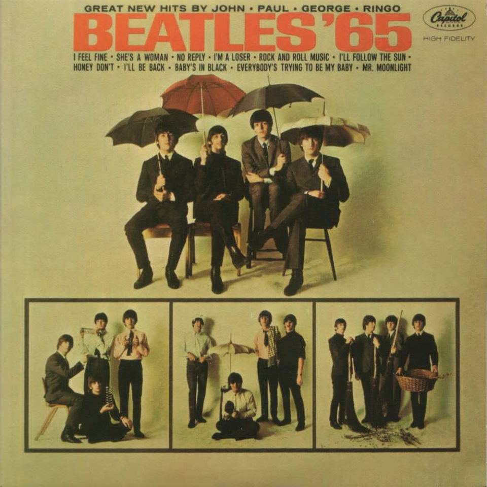 Beatles '65 album artwork – USA