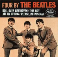 Four By The Beatles EP artwork - USA