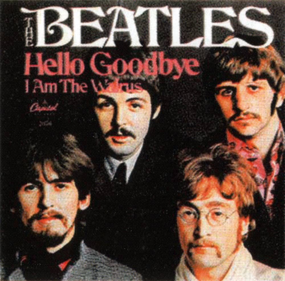 Hello, Goodbye single artwork - USA