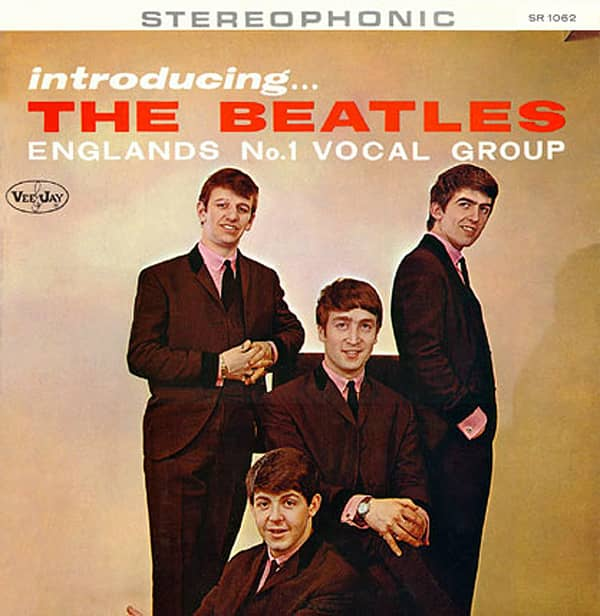 Introducing The Beatles album artwork - USA