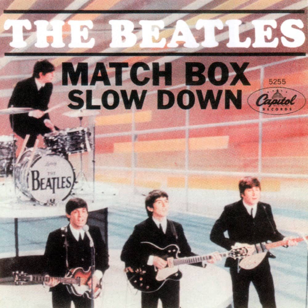 Matchbox single artwork - USA