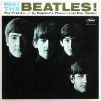 Meet The Beatles! album artwork – USA