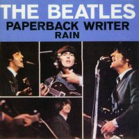 Paperback Writer single artwork - USA