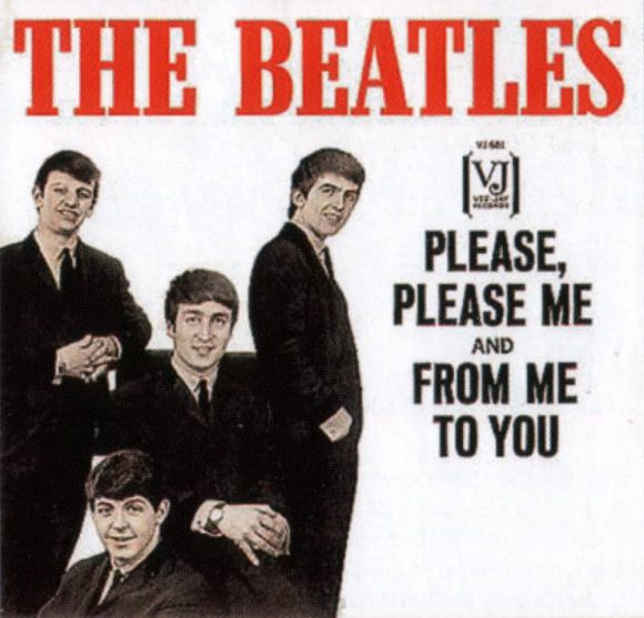 Please Please Me single artwork – USA