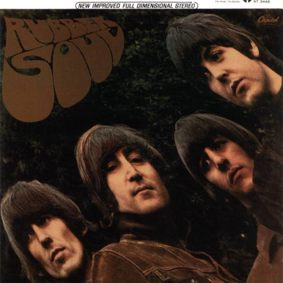 Rubber Soul album artwork - USA