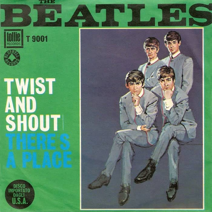 Twist And Shout single artwork - USA