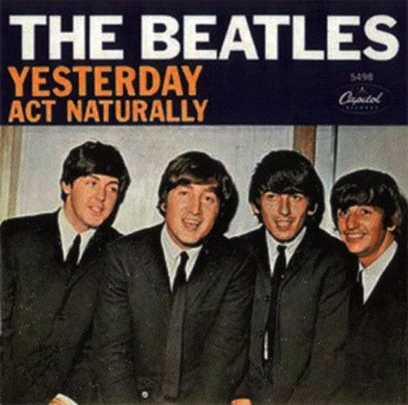 Yesterday single artwork – USA
