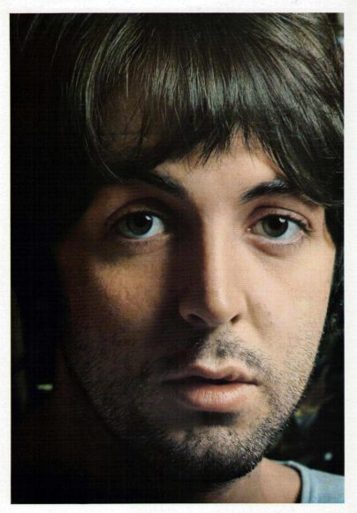 White Album portrait: Paul McCartney