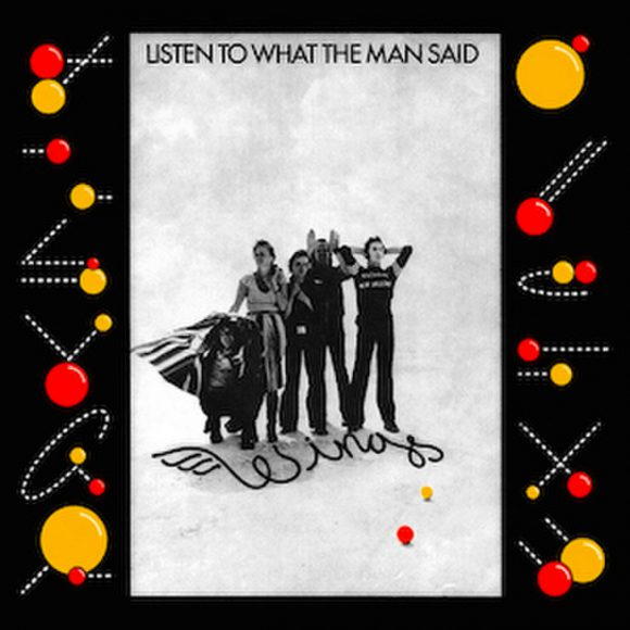 Wings–Listen To What The Man Said single artwork