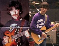 george & dhani – stamp out the beatles